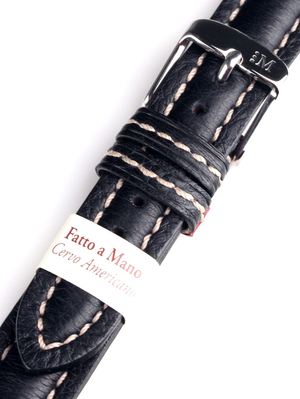 Curea de ceas Morellato A01U3885A62019CR18 schwarzes Uhren18mm