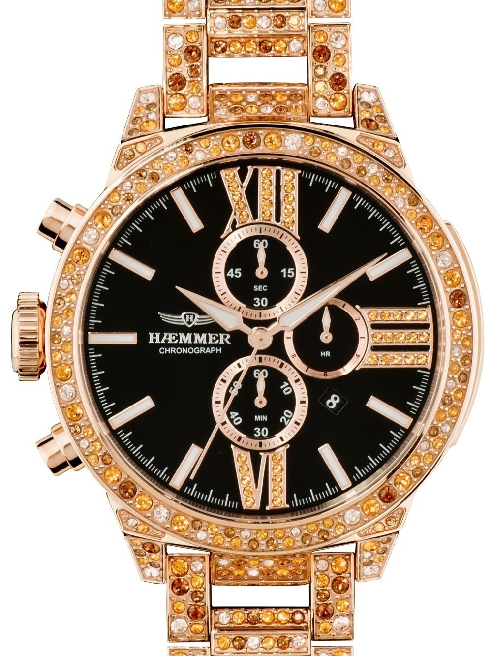 ceas de dama haemmer u-300 unique chrono 45mm 10atm