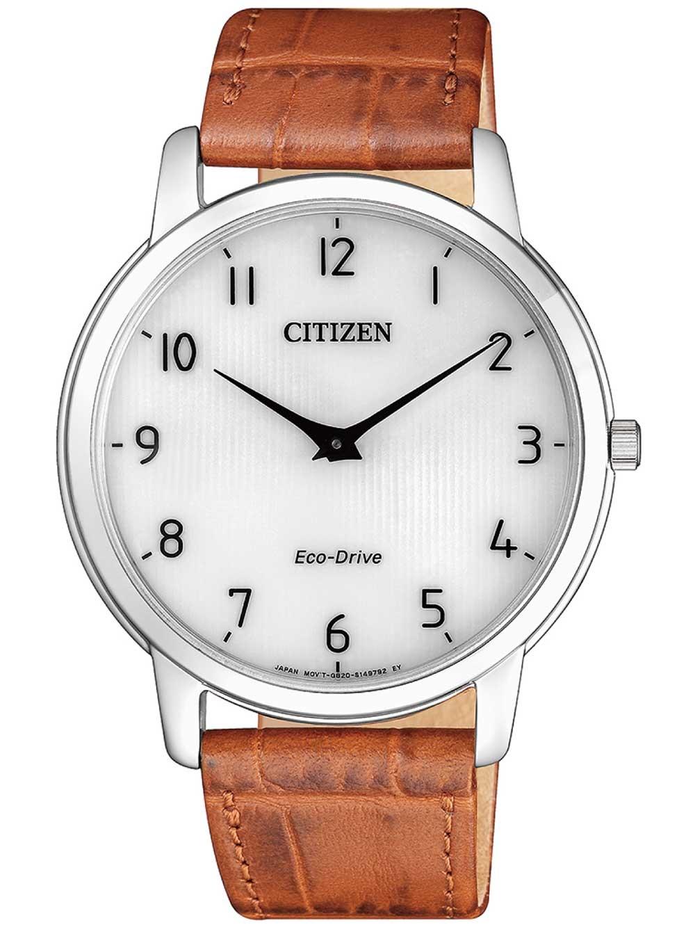 ceas barbatesc citizen ar1130-13a eco-drive stiletto 40mm 3atm