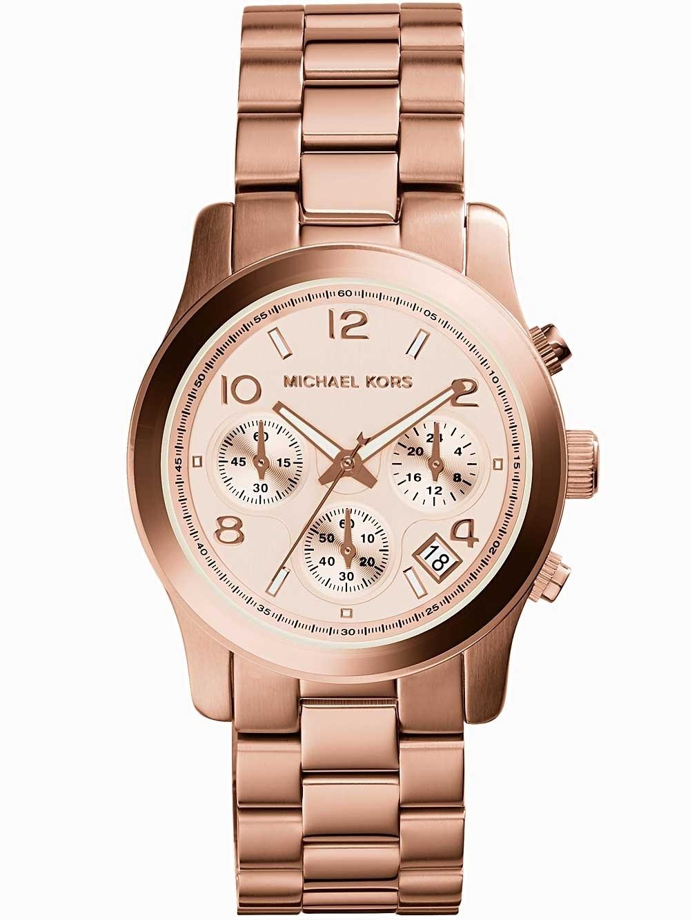 ceas de dama michael kors mk5128 runway chrono 38mm 10atm