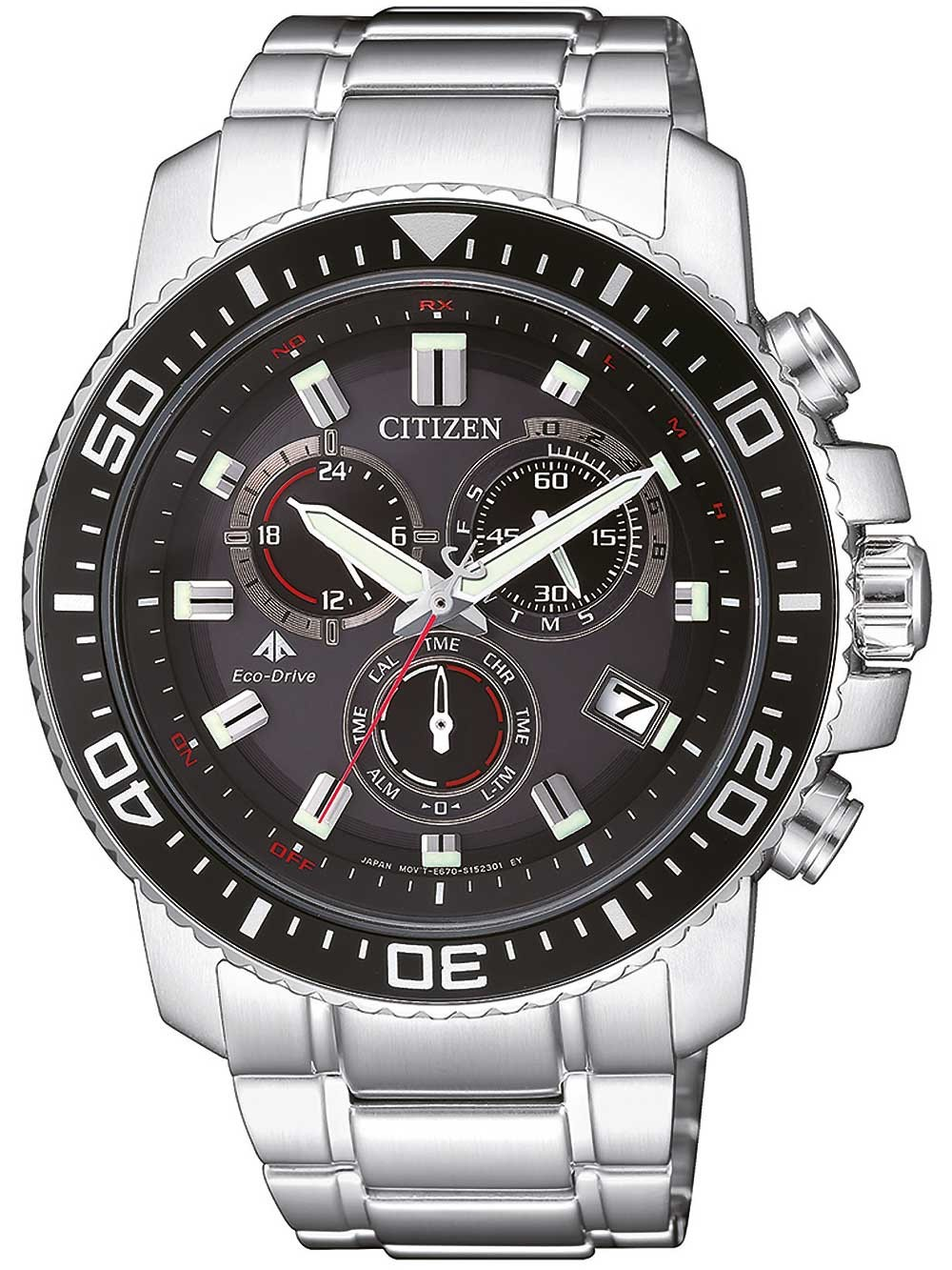 Watches Chrono12 Citizen As4080 51e Eco Drive Funkuhr