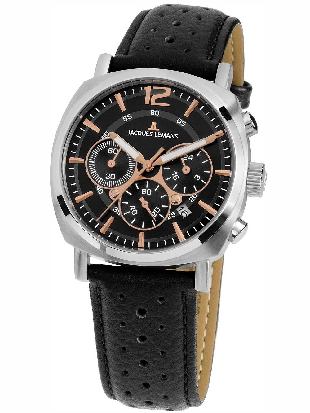 watches chrono12 jacques lemans 1 1931a lugano. Black Bedroom Furniture Sets. Home Design Ideas