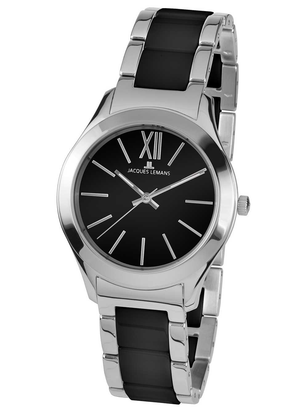 ceas de dama jacques lemans 1-1796a rome 37mm 10atm