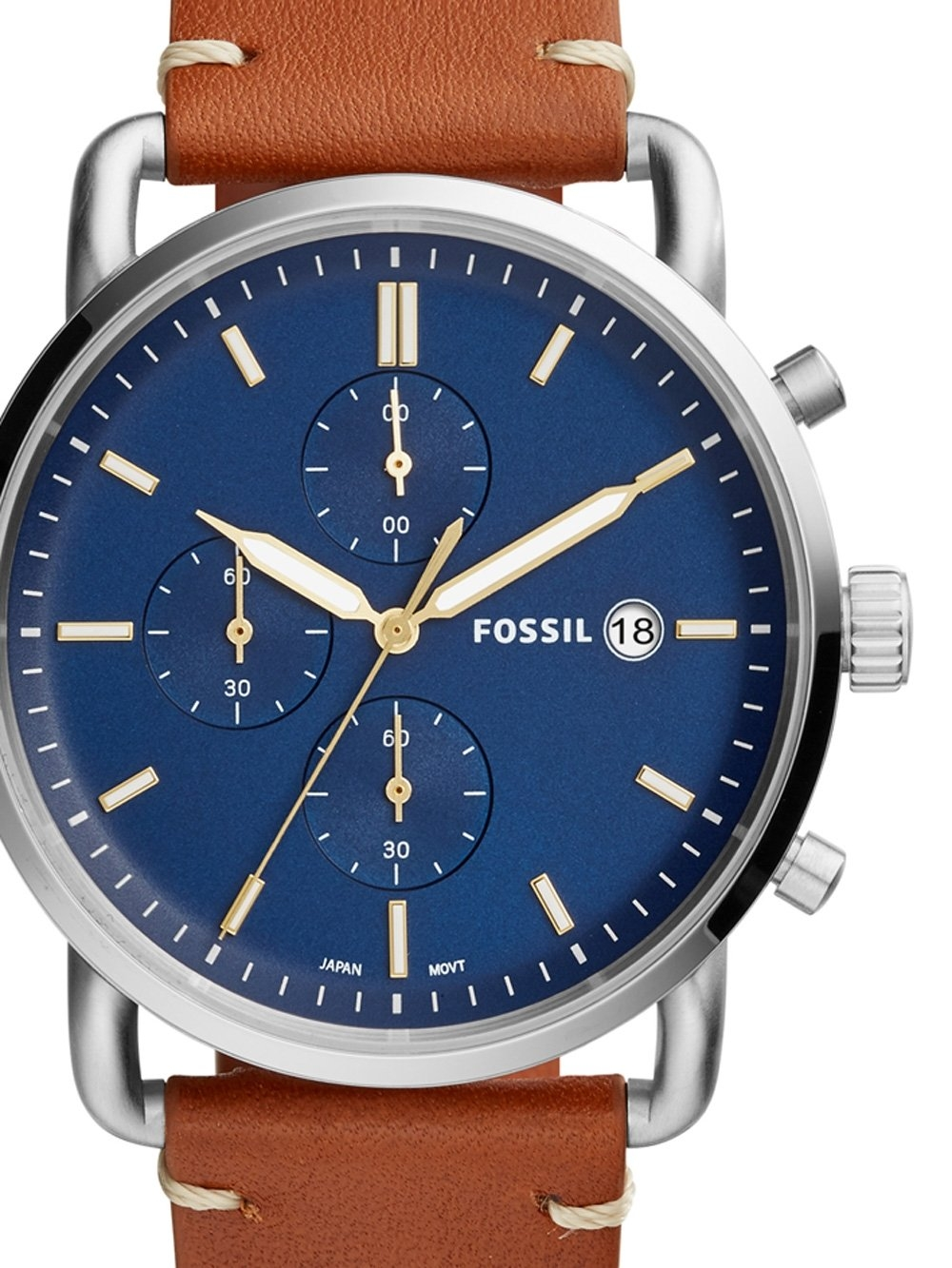 Ceas barbatesc Fossil FS5401 The Commuter Chrono 42mm 5ATM