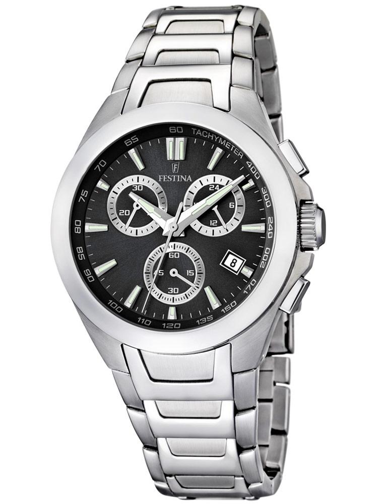 ceas barbatesc festina sport f16678/6 cronograf 42 mm