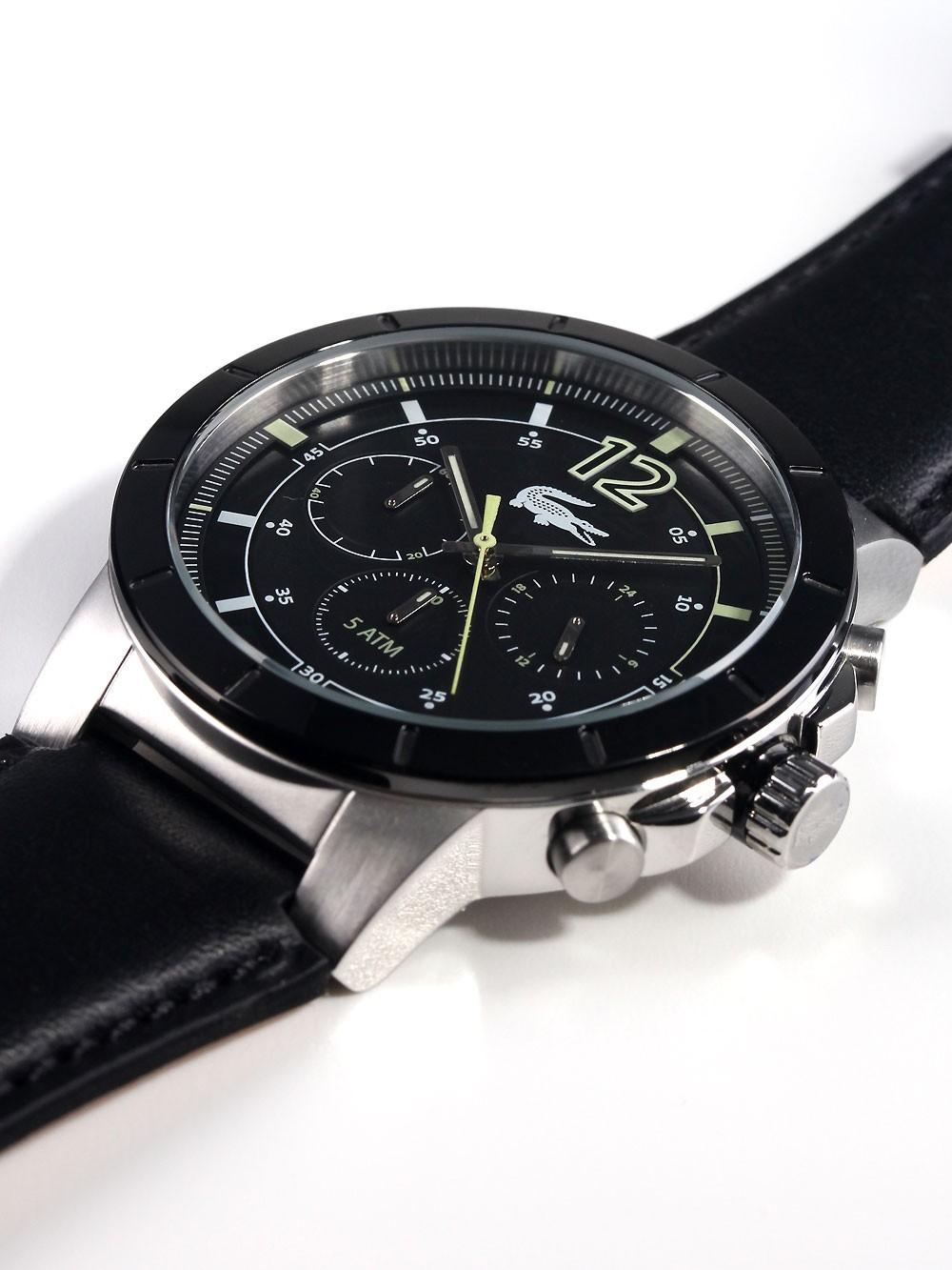 watches chrono12 lacoste herren chronograph darwin 2010743. Black Bedroom Furniture Sets. Home Design Ideas