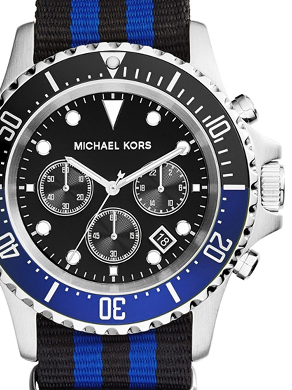 michael kors mk8398 everest chronograph 45mm 10atm