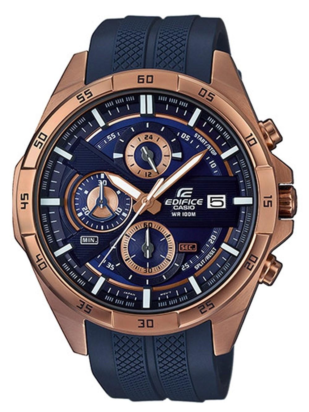 ceas barbatesc casio efr-556pc-2avuef edifice chrono.47mm 10atm