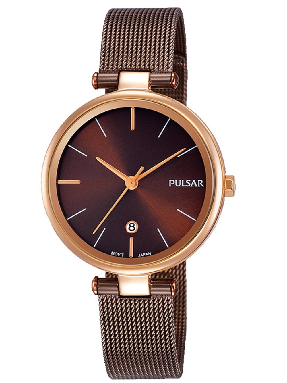 ceas de dama pulsar ph7466x1 klassik 29mm 5atm