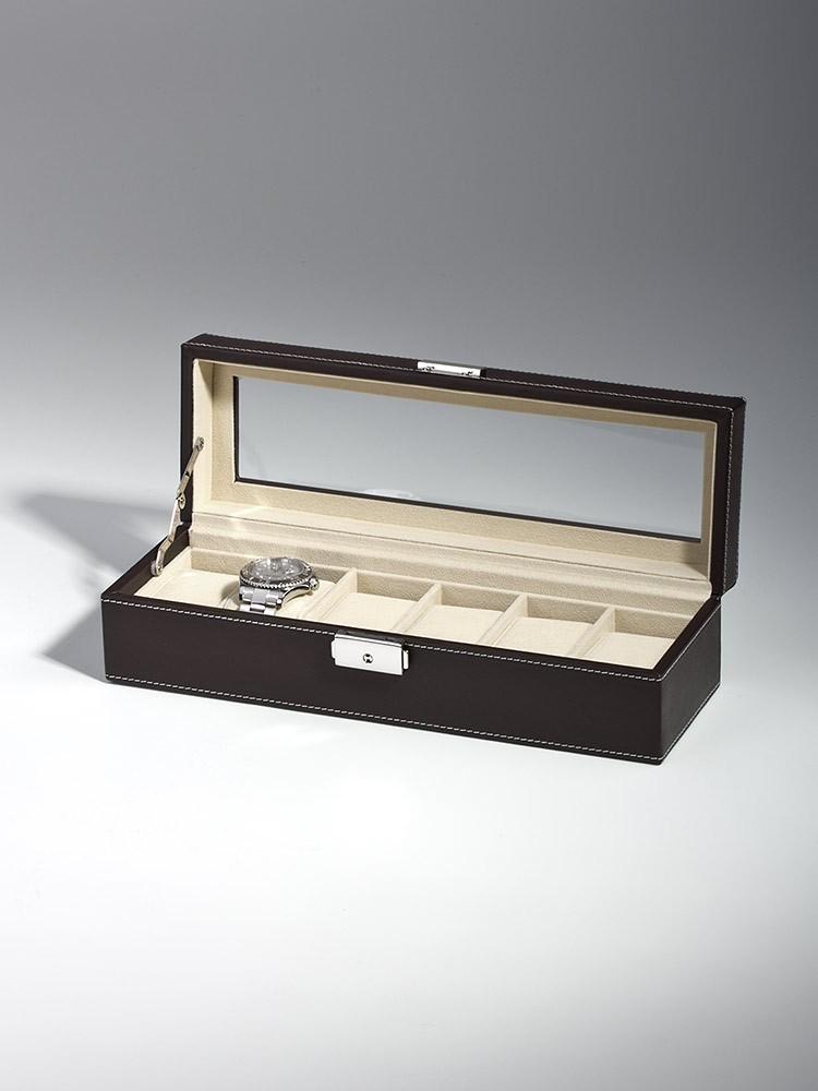 cutie ceasuri rothenschild rs-1680-6dbr 6 ceasuri