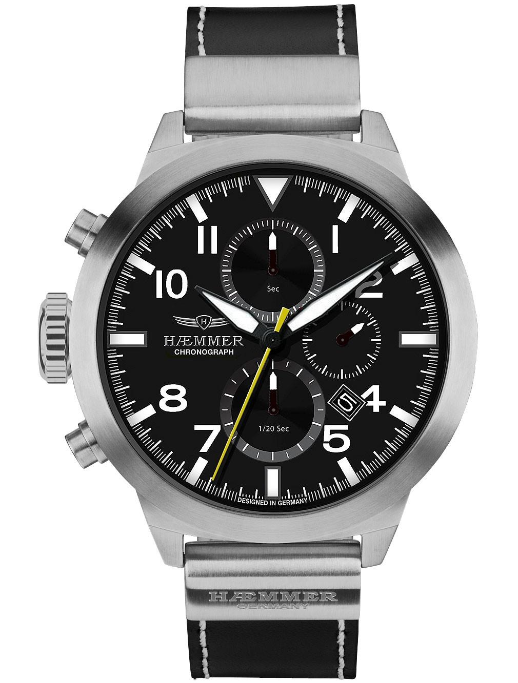 ceas barbatesc hemmer hf-01 authentic cronograf 50mm 10atm title=ceas barbatesc hemmer hf-01 authentic cronograf 50mm 10atm