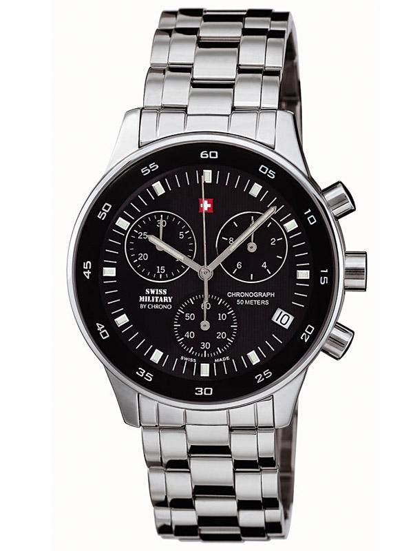 ceas barbatesc swiss military 17700st-1m cronograf