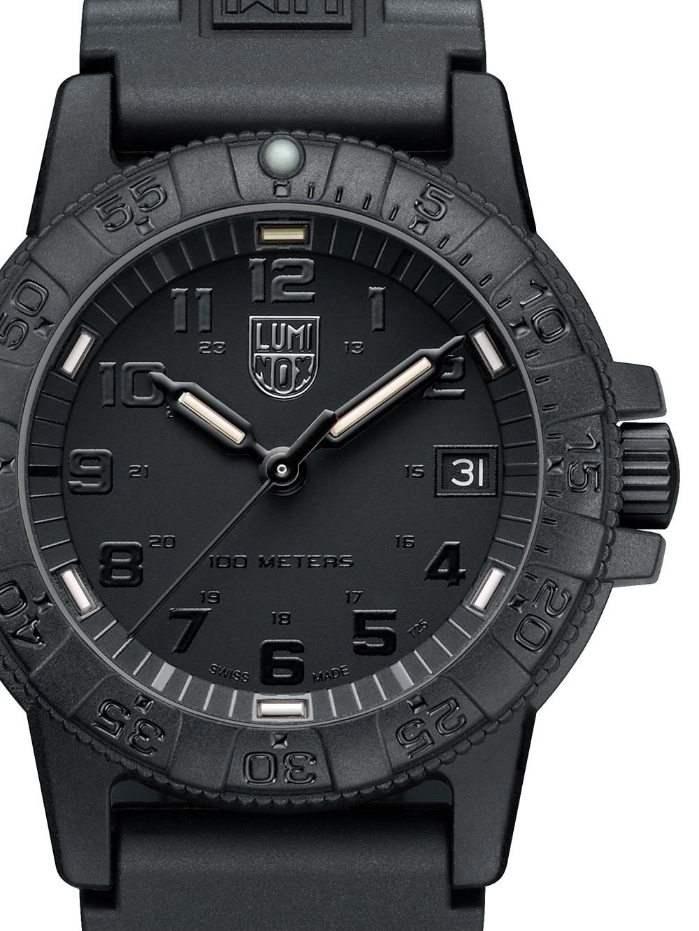 ceas de dama luminox xs.0301.bo leatherback sea turtle 39mm 10atm
