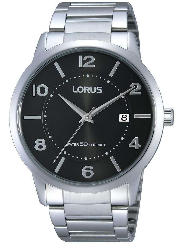 watches chrono12 lorus rs951bx9 herrenuhr silber. Black Bedroom Furniture Sets. Home Design Ideas