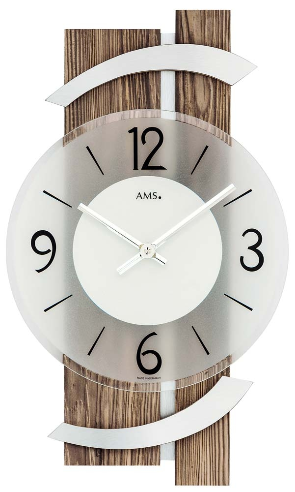 ceas de perete ams 9545 modern - serie: ams design