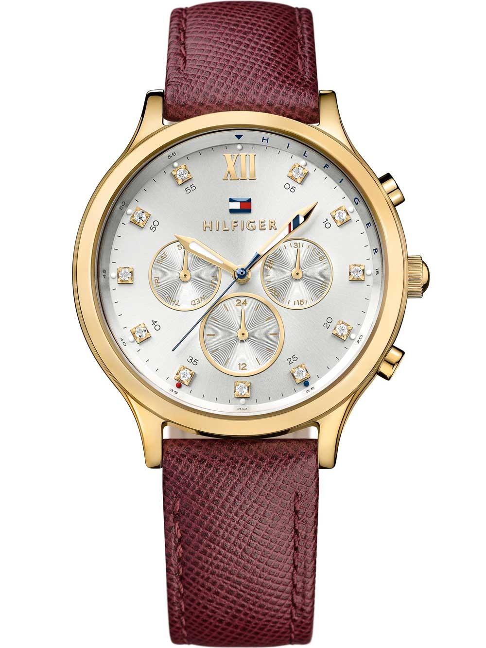 watches chrono12 tommy hilfiger 1781614 damenuhr 39mm 3atm. Black Bedroom Furniture Sets. Home Design Ideas