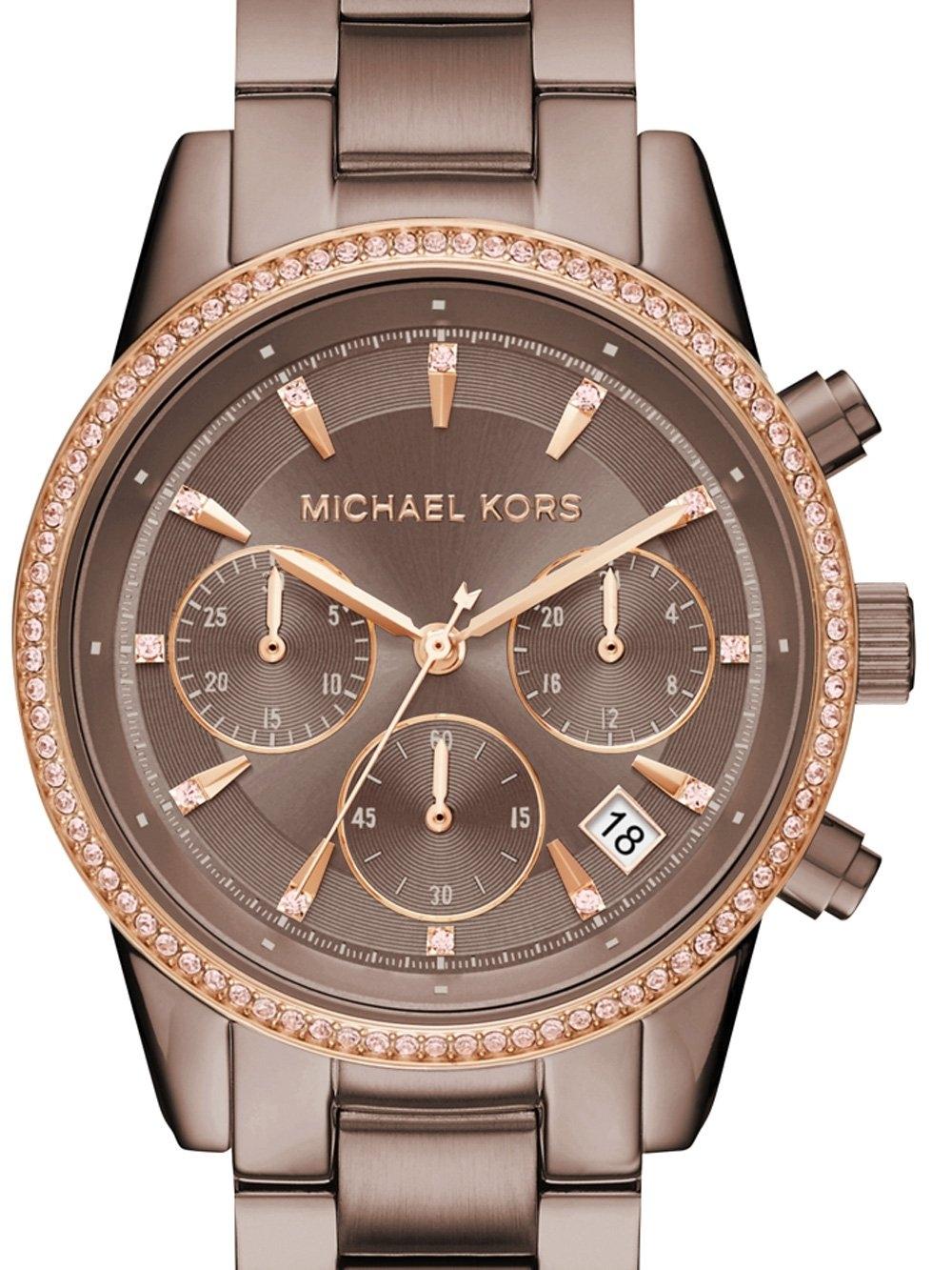 ceas de dama michael kors mk6529 ritz chrono 37mm 5atm