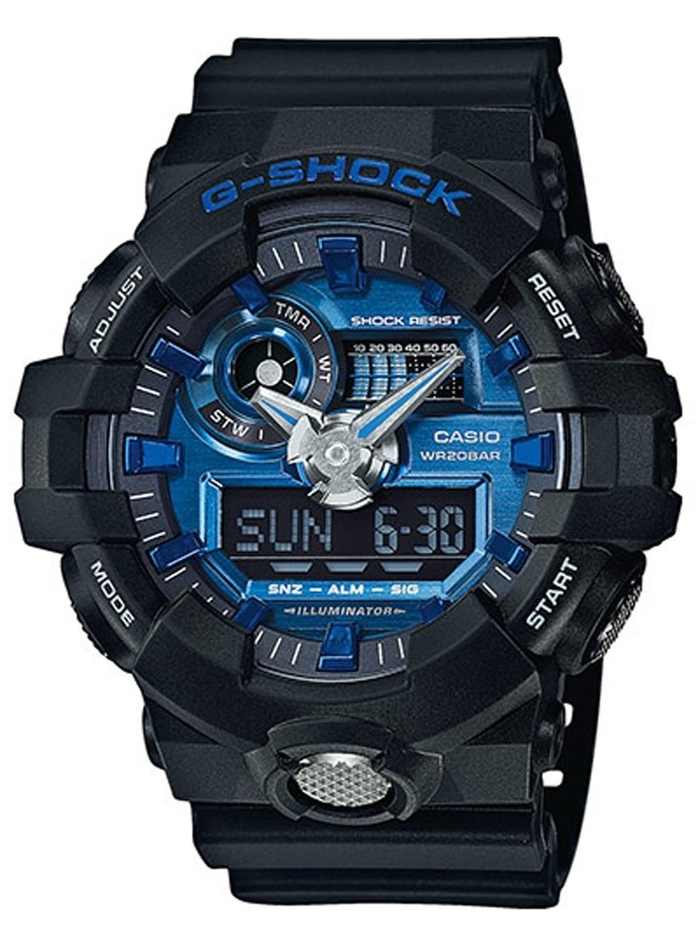 ceas barbatesc casio ga-710-1a2er g-shock 53mm 20atm