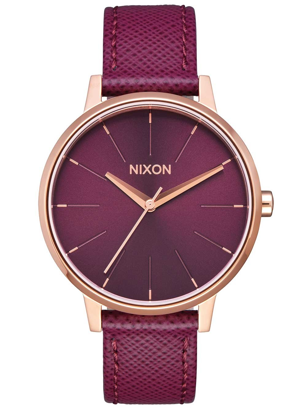 ceas de dama nixon a108-2479 kensington leather 37mm 5atm