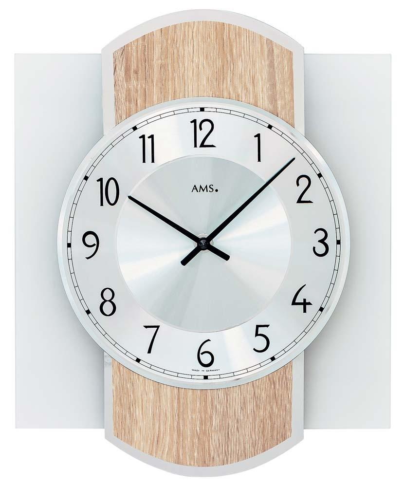 ceas de perete ams 9561 modern - serie: ams design