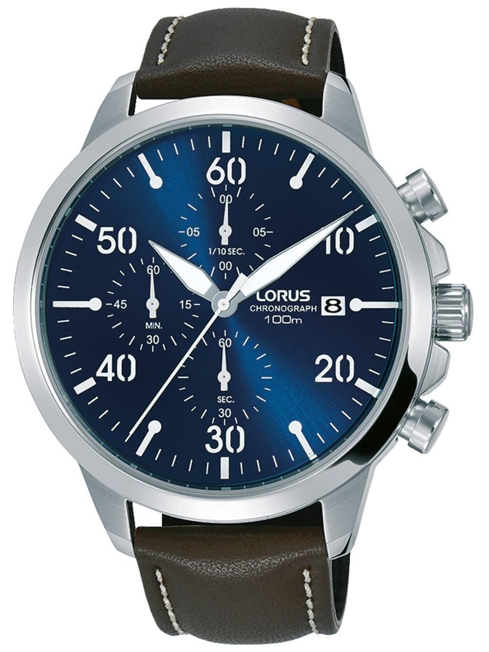 ceas barbatesc lorus rm353ex9 chrono. 44mm 10atm