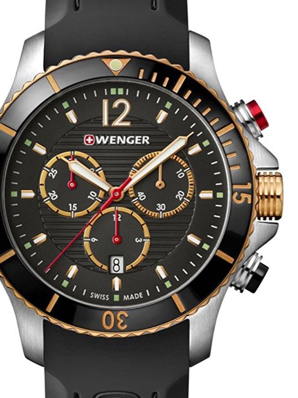ceas barbatesc wenger 01.0643.112 seaforce chrono. 43mm 20atm