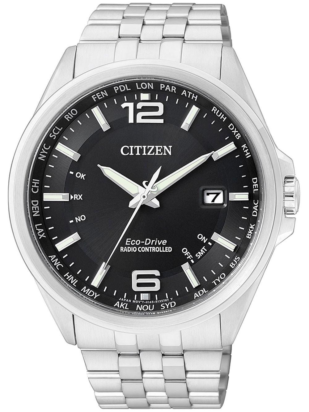 ceas barbatesc citizen eco-drive elegant cb0010-88e 43 mm 100m