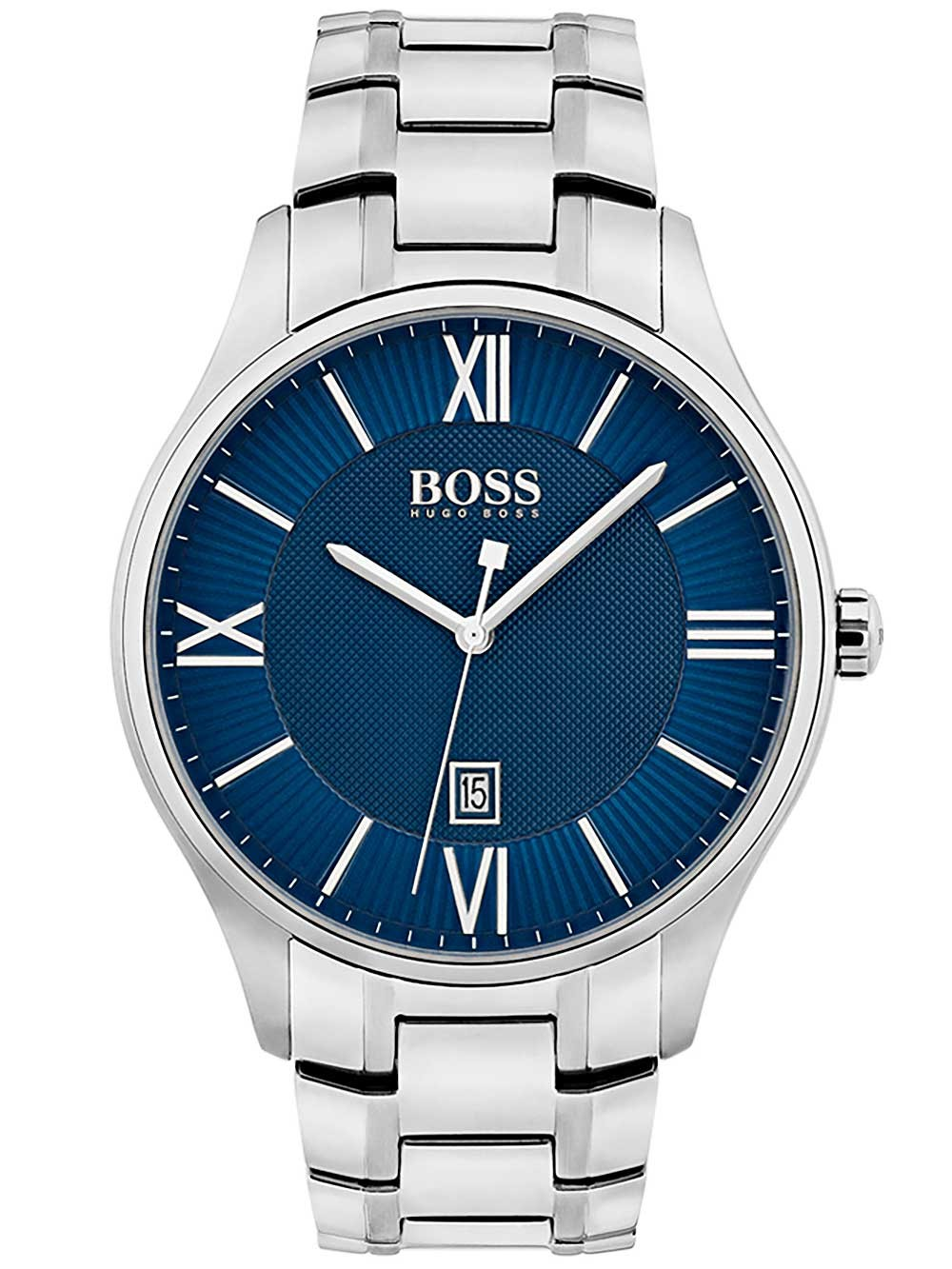 watches chrono12 hugo boss 1513487 governor herren. Black Bedroom Furniture Sets. Home Design Ideas
