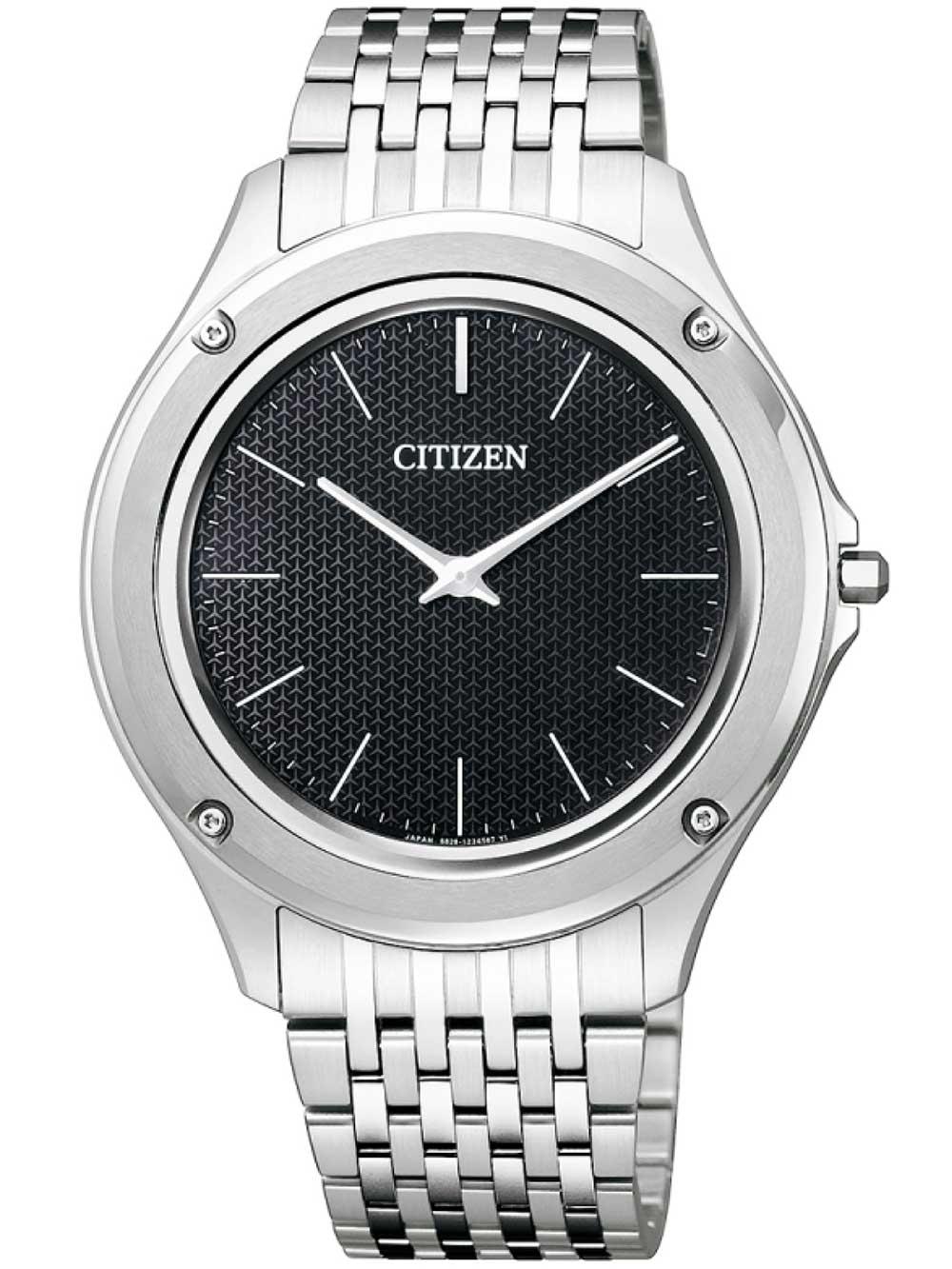 ceas barbatesc citizen ar5000-50e eco-drive one titan 39mm 3atm