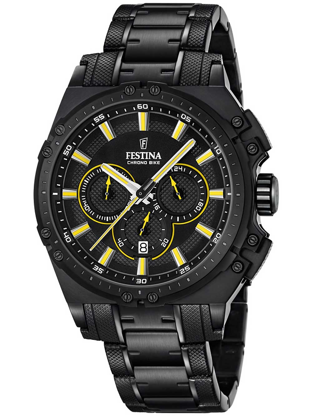 ceas barbatesc festina f16969/3 chrono-bike 2016 44mm 10atm