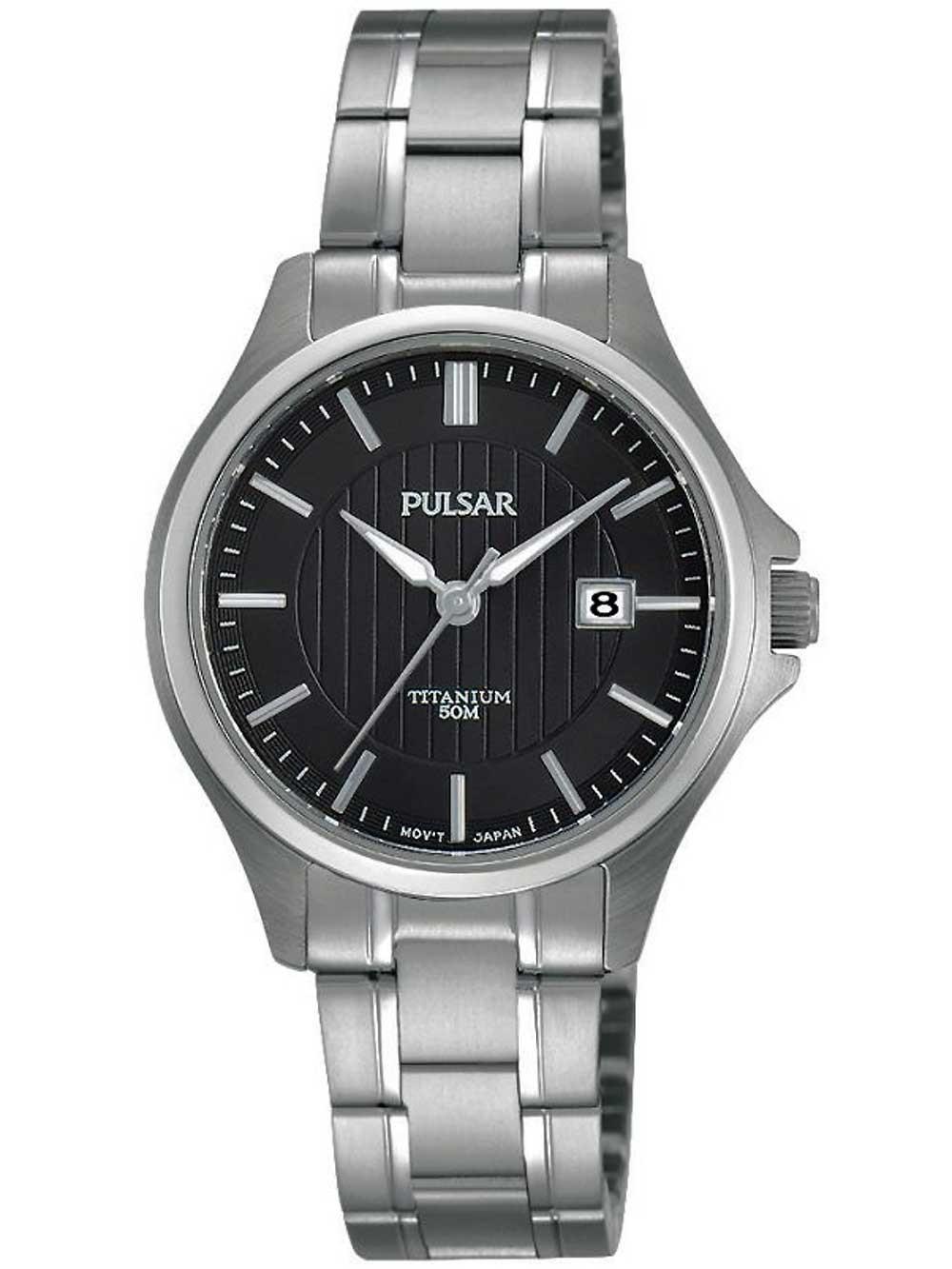 ceas de dama pulsar ph7437x1 titan 30mm 5atm