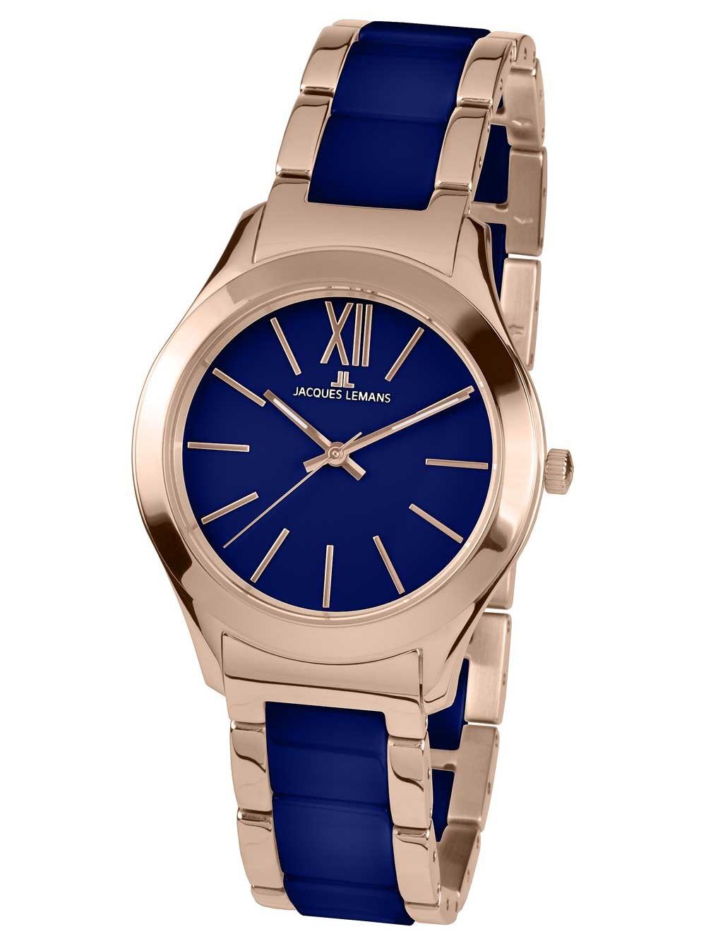 ceas de dama jacques lemans 1-1796i rome 37mm 10atm