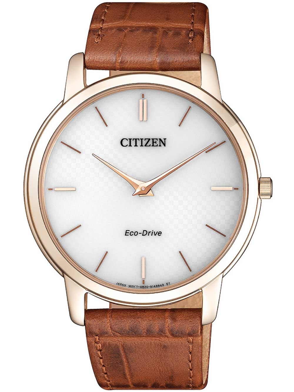 ceas barbatesc citizen ar1133-15a eco-drive stiletto 40mm 3atm