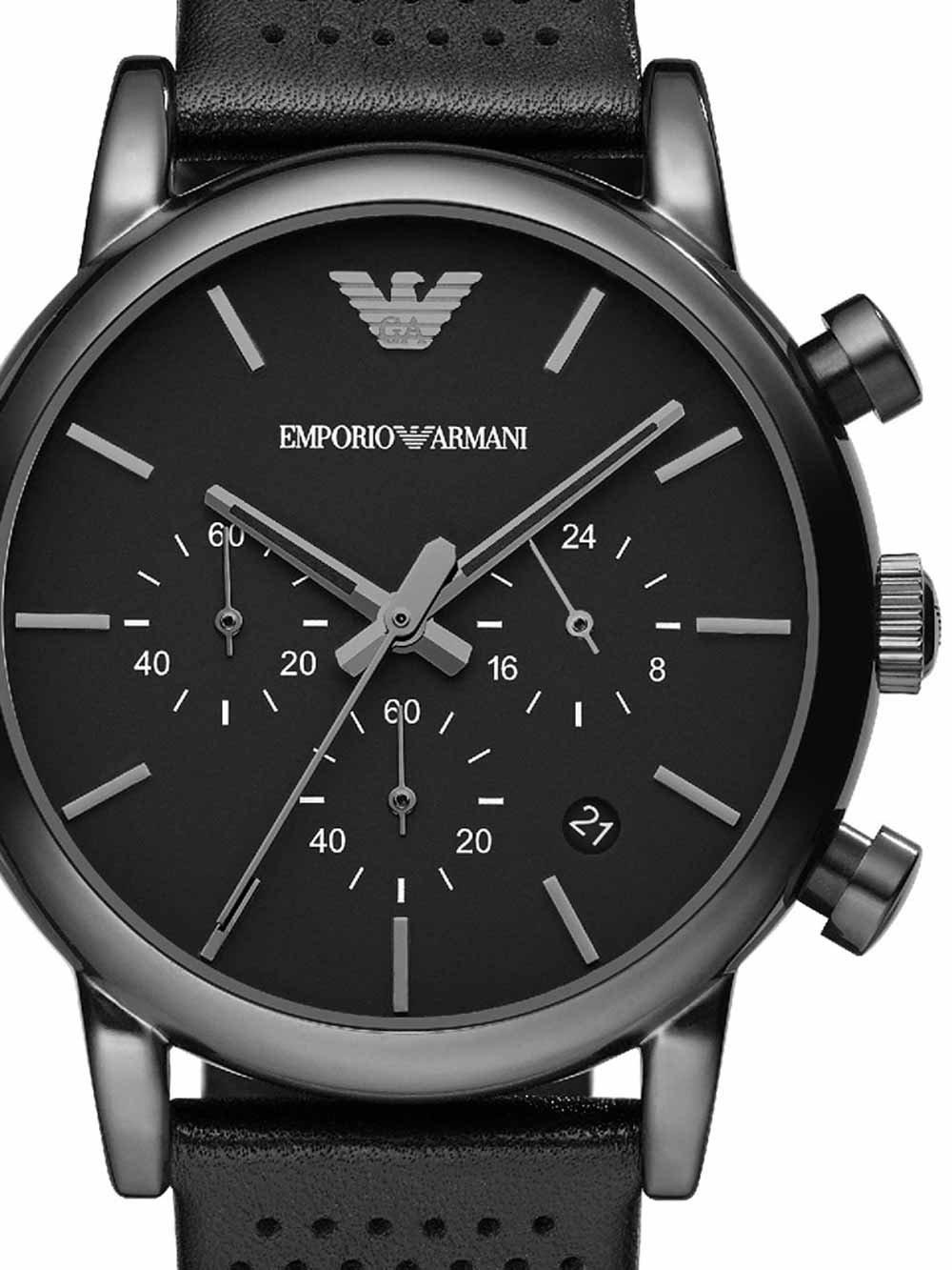 ceas barbatesc emporio armani ar1737 luigi chrono 40mm 5atm