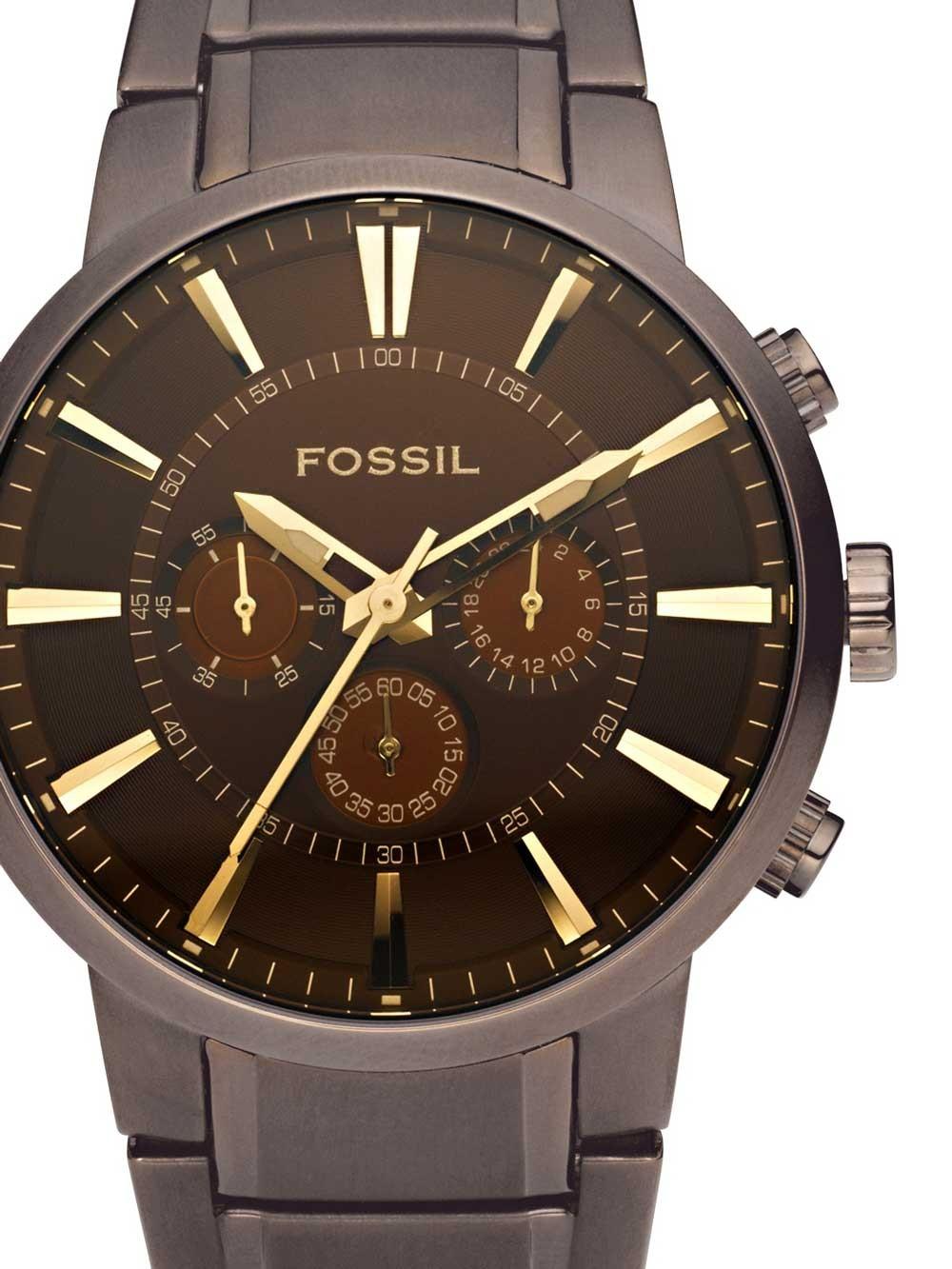 watches chrono12 fossil fs4357 other men herren. Black Bedroom Furniture Sets. Home Design Ideas