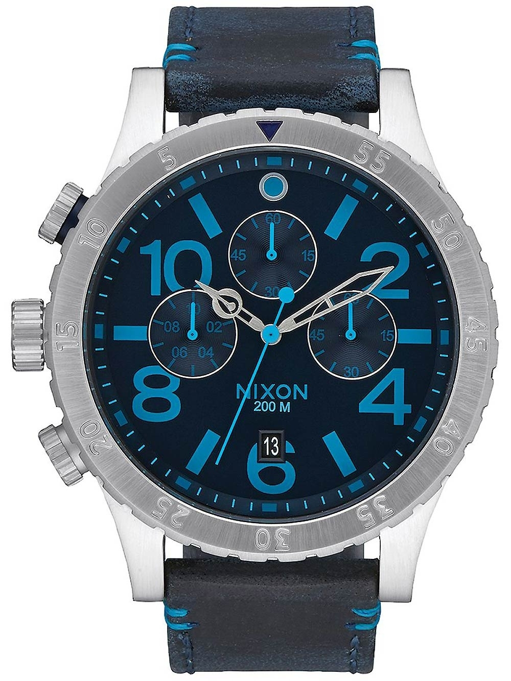 ceas barbatesc nixon a363-2219 48-20 chrono 48mm 20atm