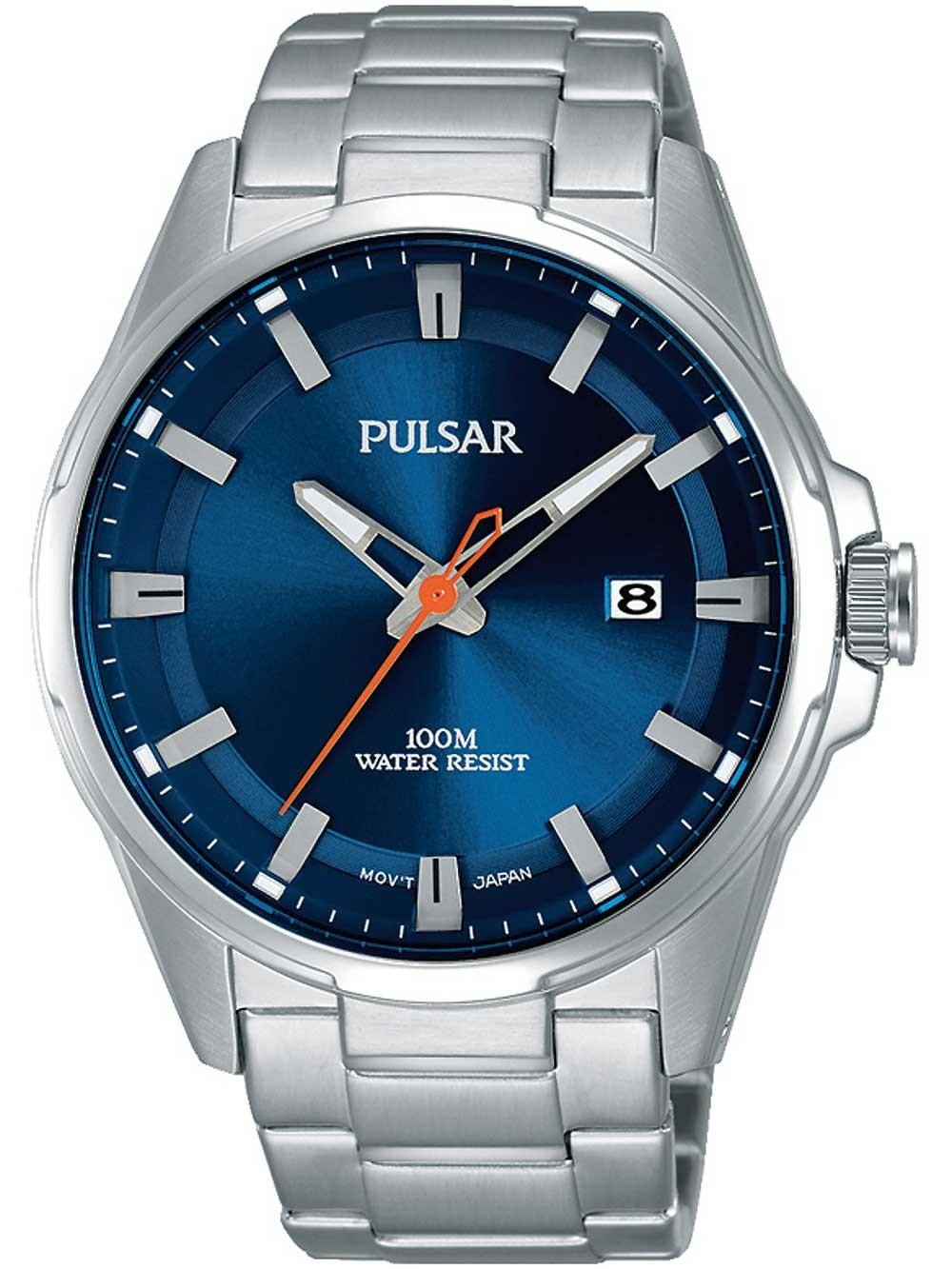 ceas barbatesc pulsar ps9505x1 43mm 10atm