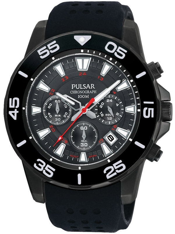 ceas barbatesc pulsar pt3145x1 cronograf