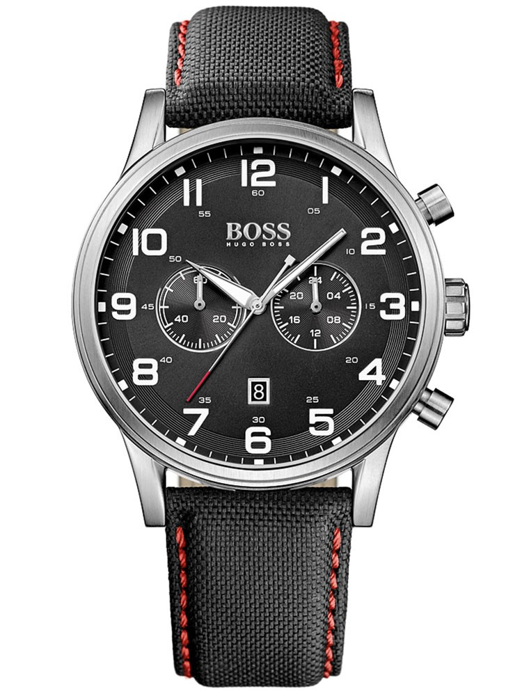 ceas barbatesc hugo boss 1512919 44 mm