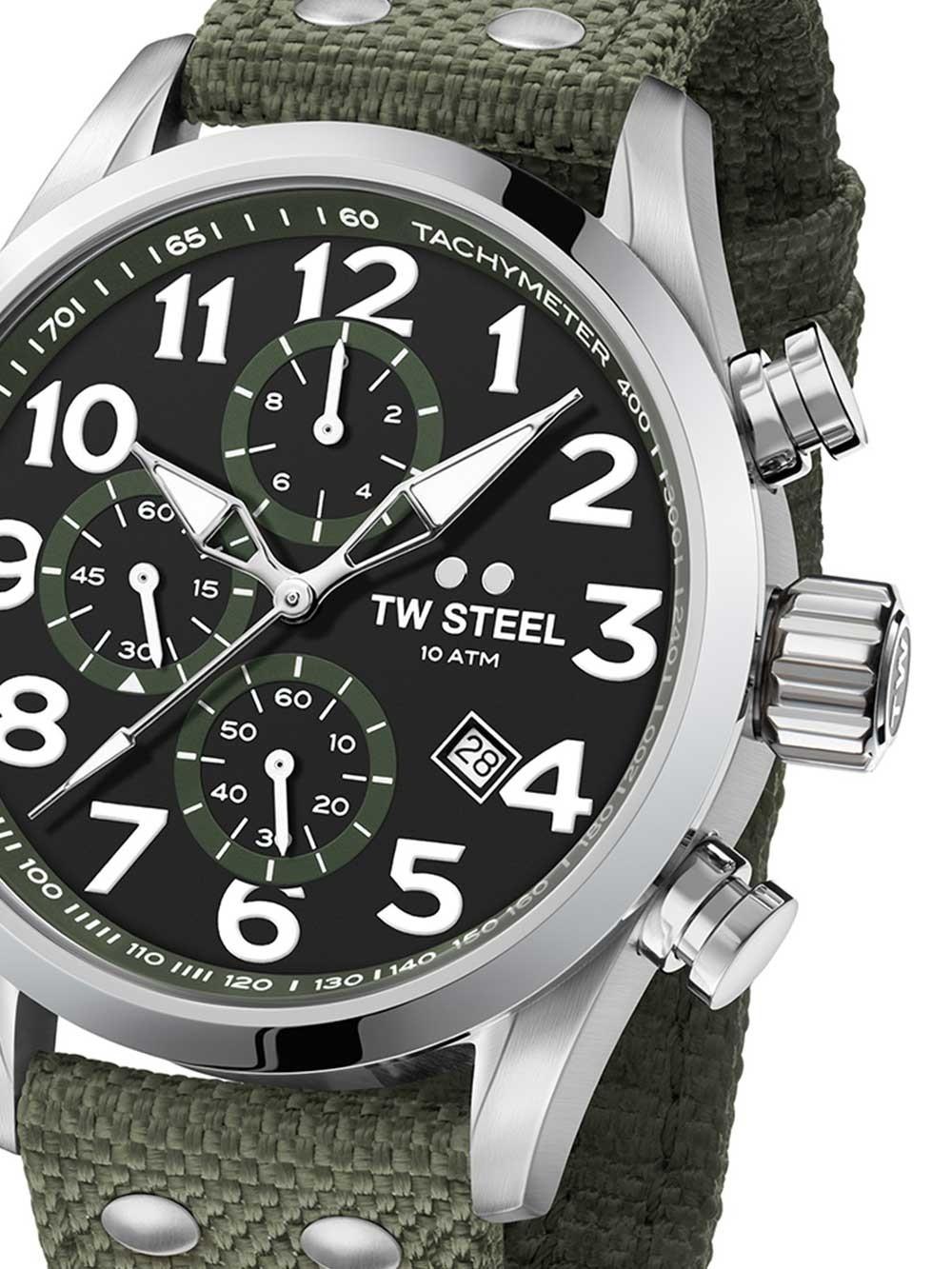 ceas barbati tw-steel vs24 volante chrono 48mm 10atm