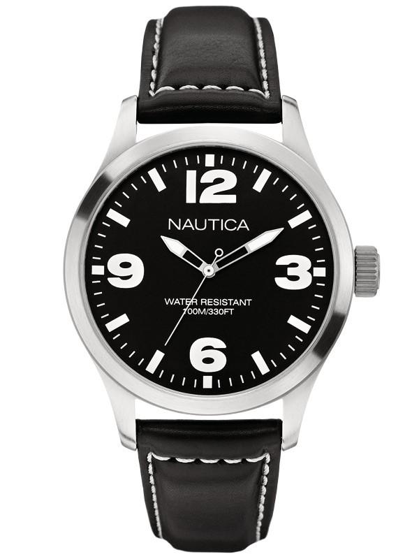 ceas barbatesc nautica bfd 102 classic a12622g 10 atm 44 mm