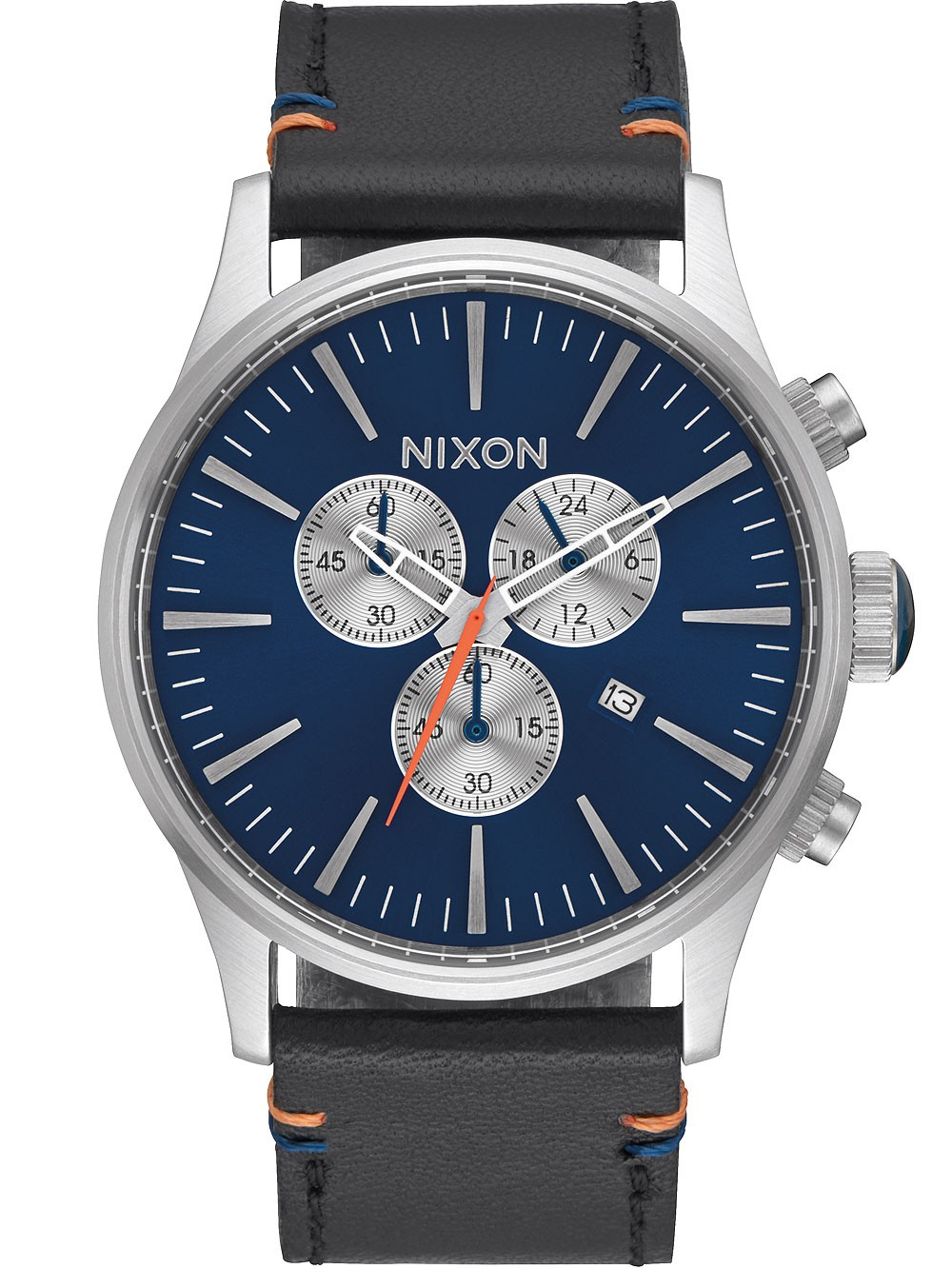 ceas barbatesc nixon a405-1258 sentry chrono 42mm 10atm