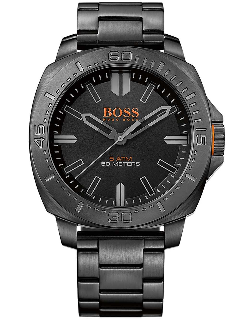 ceas barbatesc hugo boss orange 1513241 sao paulo 5atm 46mm