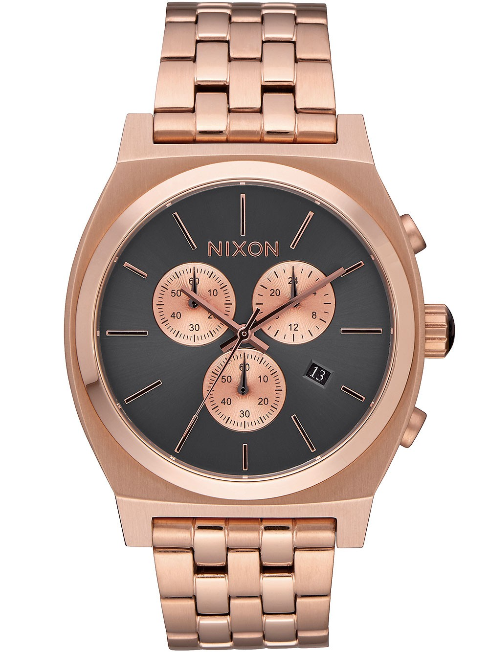 ceas barbatesc nixon a972-2046 time teller chrono 39mm 10atm