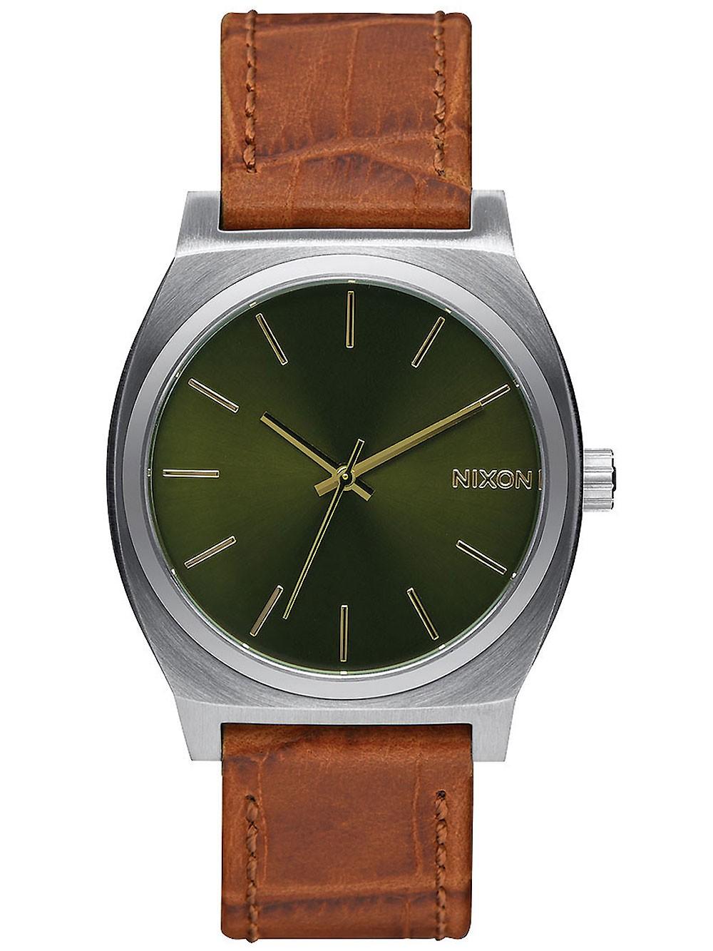 ceas barbatesc nixon a045-1888 time teller 37mm 10atm