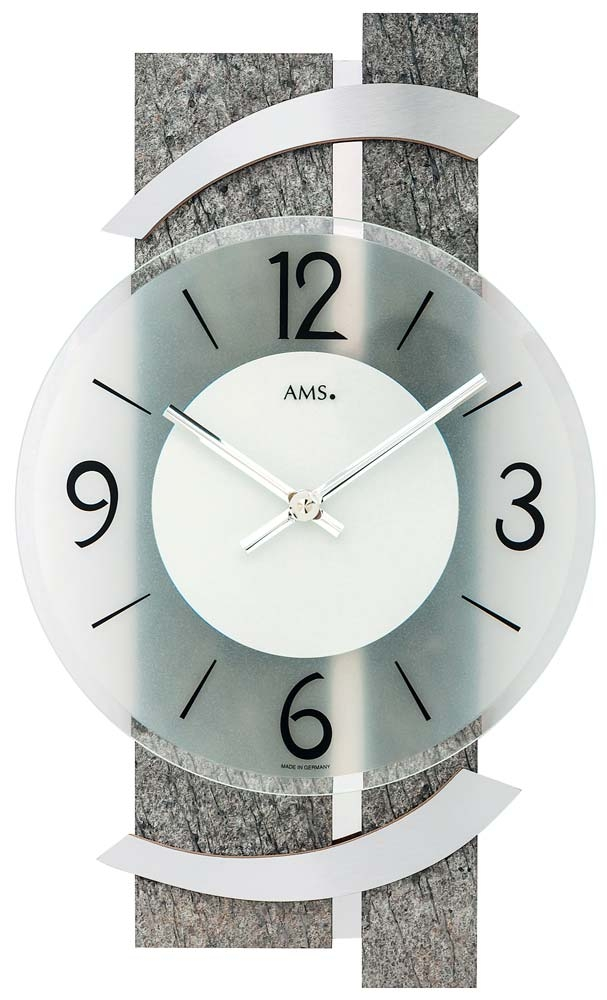 ceas de perete ams 9548 modern - serie: ams design
