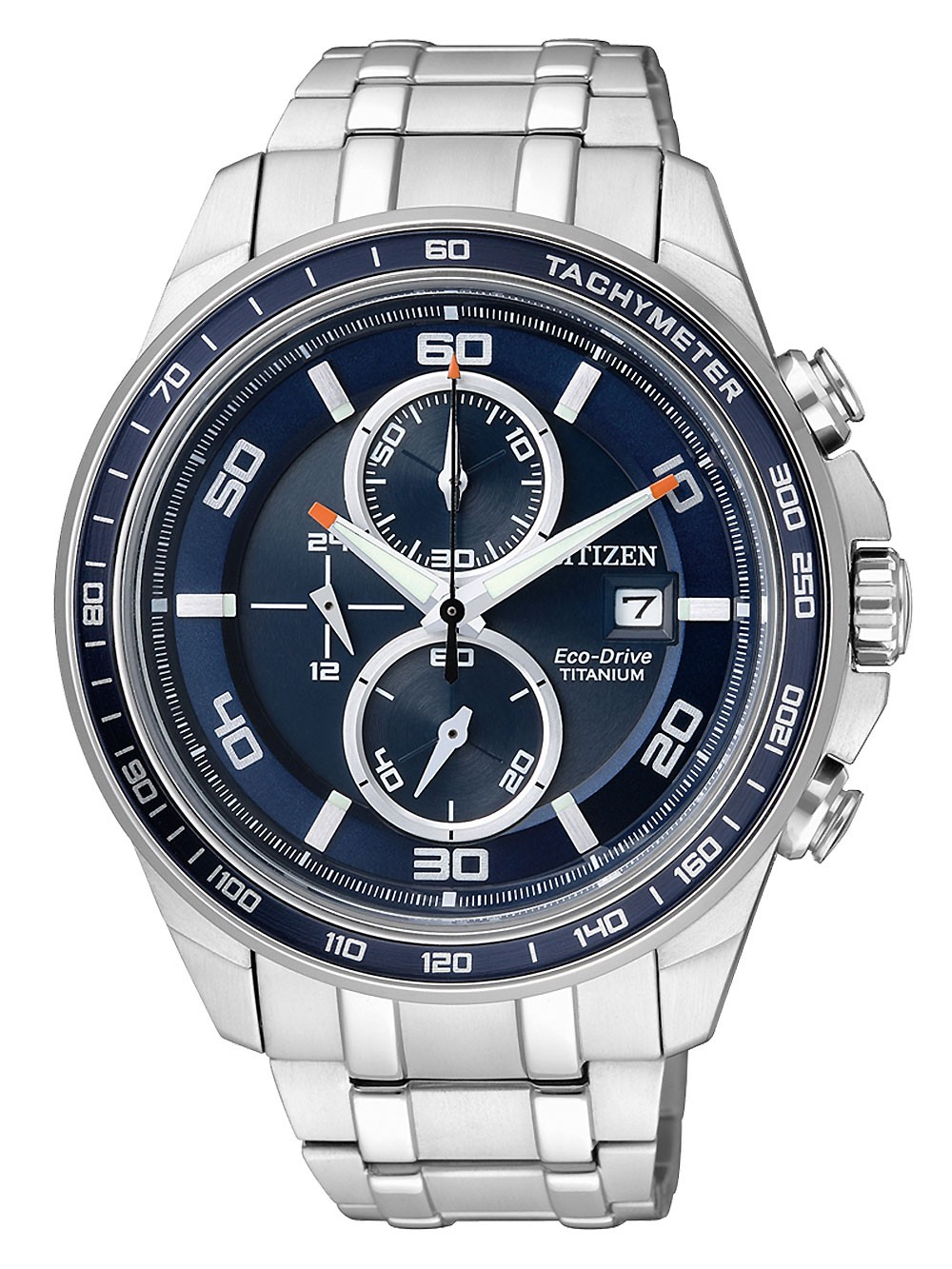 ceas barbatesc citizen ca0345-51l super titan chrono 10atm 44mm