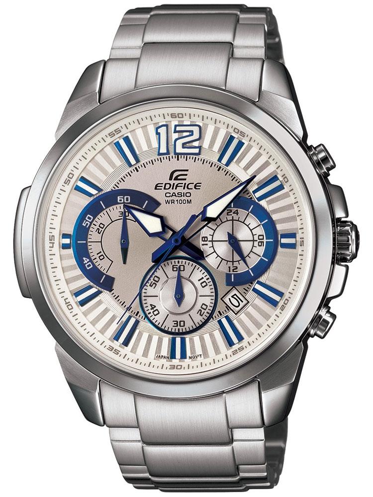 ceas barbatesc casio efr-535d-7a2vuef edifice cronograf 10 atm 46 mm
