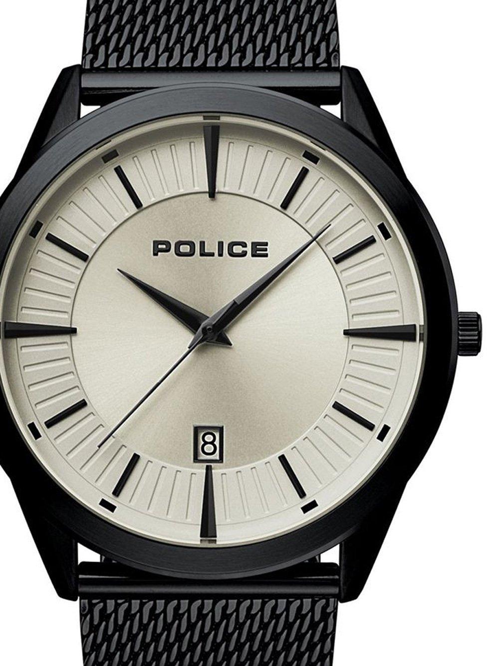 ceas barbatesc police pl15305jsb.79mm partiot 45mm 5atm