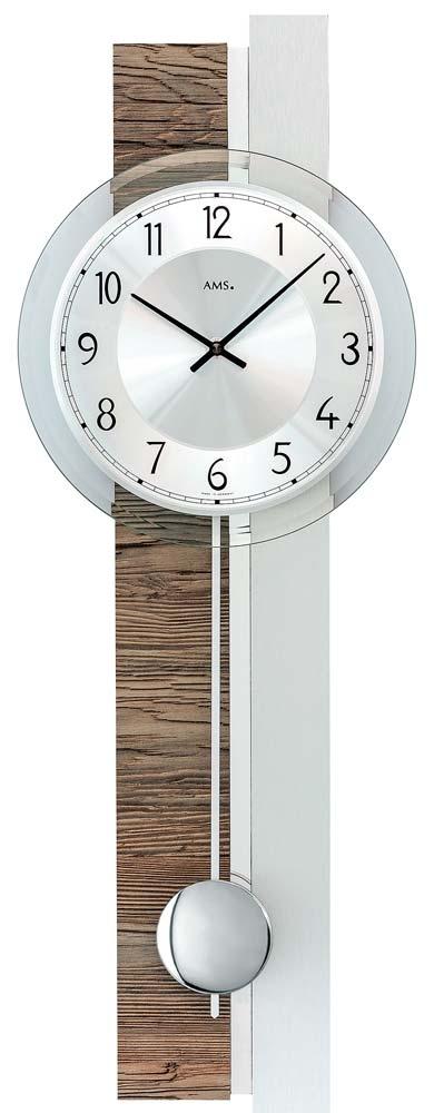 ceas de perete ams 7438 - serie: ams design